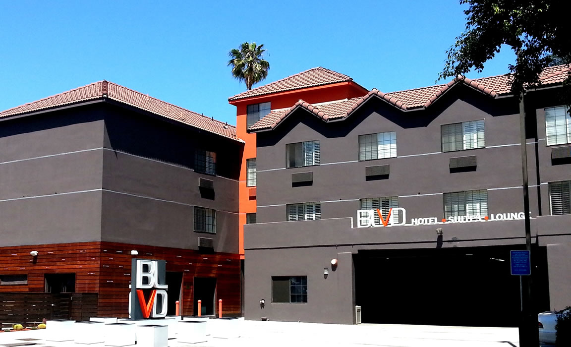 Blvd Ii Hotel Suites Hollywood