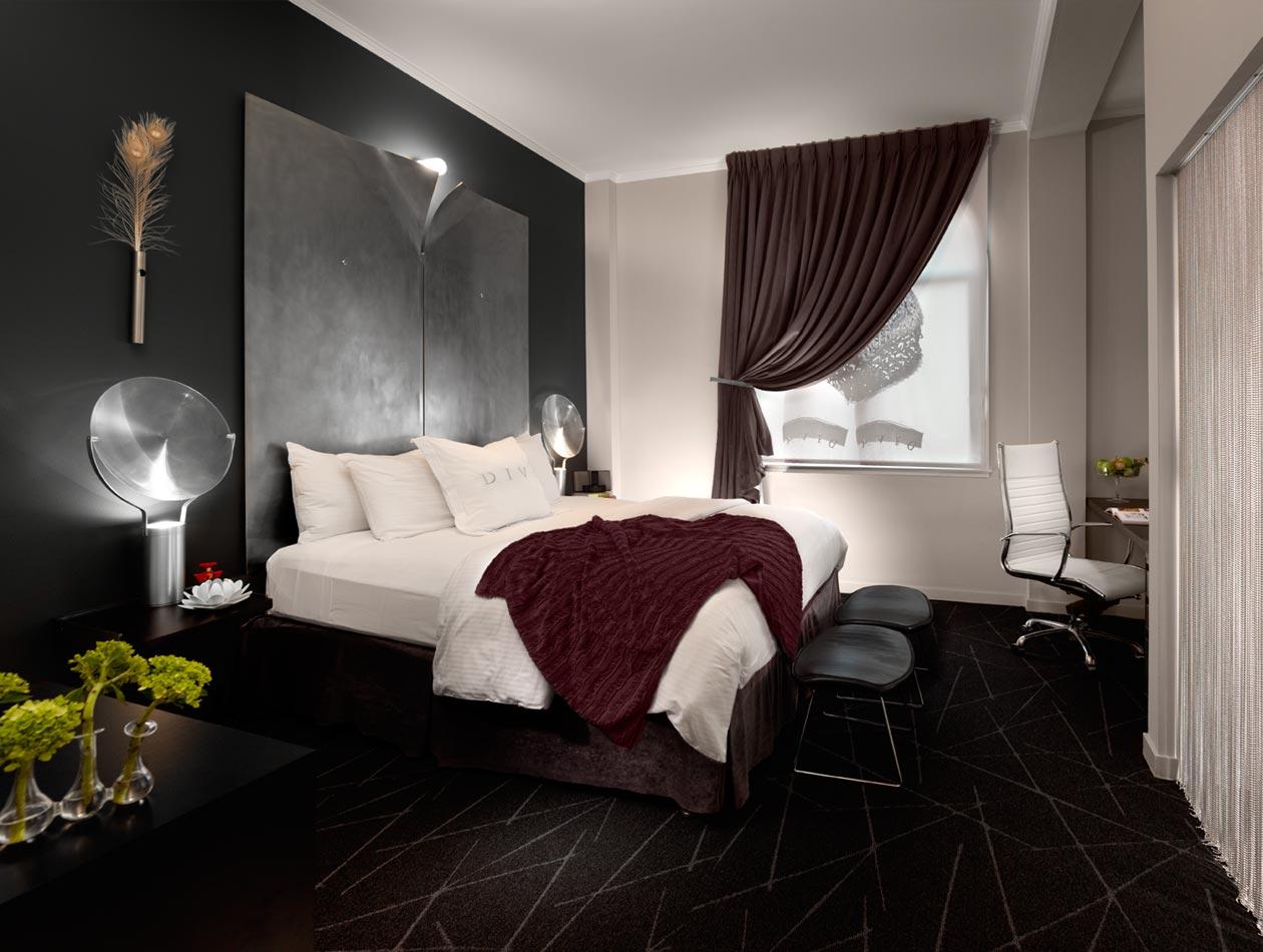 hotel diva san francisco roomfinds. Black Bedroom Furniture Sets. Home Design Ideas